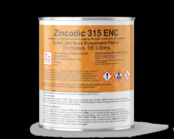 Zincodic Ceramic 315 ENC